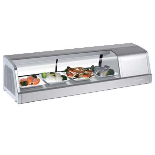 Turbo Sakura-50-R Refrigerated Sushi Display Case, Compressor on Right from Fron ()