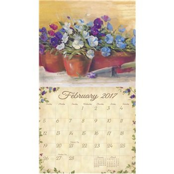 2017 Cottage Garden Wall Calendar - Legacy {jg} Great Holiday Gift Ideas - for mom, dad, sister, brother, grandparents, gay, lgbtq, grandchildren, grandma. Photo #3