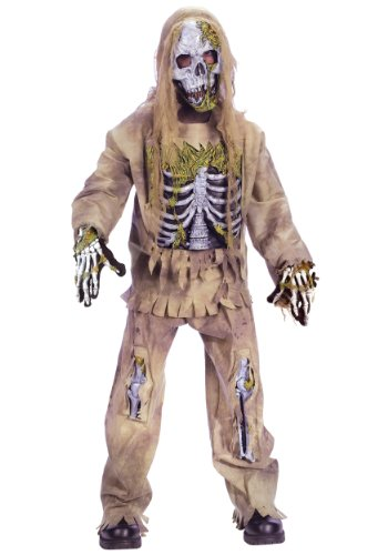 Zombie+Costumes Products : Fun World Costumes Boys Skeleton Zombie Dress
