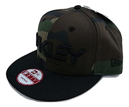Oakley Men s 75  New Era 9fifty Adjustable Snapback Hat Cap - Olive ... 2a7f0840b4c