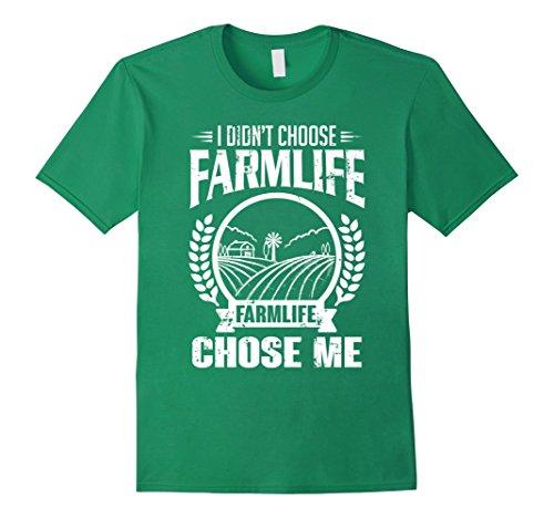 Mens I didn't choose farmlife. It chose me | Funny farmer T-