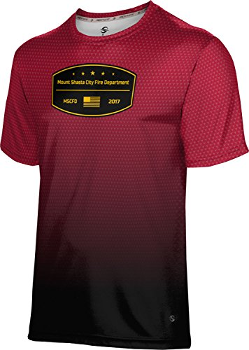 Price comparison product image ProSphere Boys' Mount Shasta City Fire Department Zoom Tech Tee (X-Small)