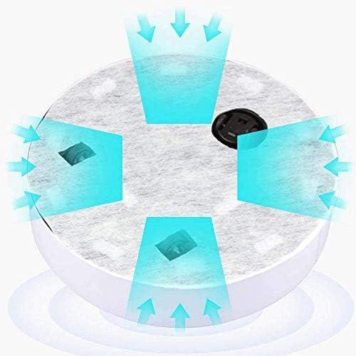 Aquila AQUILA1125 Aspirateur sans fil domestique intelligent Robot balayeuse automatique Noir Blanc