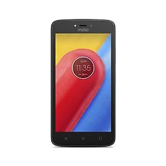 Celular Smartphone Motorola Moto C Quad 16gb 4g 2 Chips Preto + capa brinde