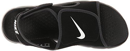 Nike Sunray Adjust 4 (Gs/Ps), Chanclas para Niños Negro (Black / White / Anthracite 011)
