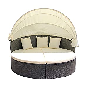 41XD%2B0GRJ9L._SS300_ 75+ Outdoor Wicker Daybeds For Your Patio For 2020