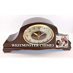 Restored 1947 Revere R-913 Westminster Chime Clock (Retro GE/Vintage General Electric)