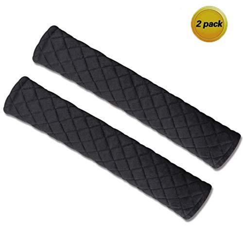 Geabon Auto Sicherheitsgurt Gurtpolster - 2 PCS Sicherheitsgurt Polsterung für Erwachsene und Kinder - Weiche bequeme Auto Sicherheitsgurt Schulterpolster hilft, Ihren Ansatz und Schulter zu schützen