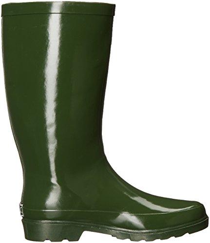 Waterproof Womens Womens Sugar Robby Calf Rainboot Sugar Robby Rubber Calf Mid Green Mid EnzqgwX
