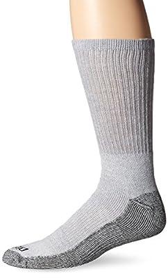 Dickies Men's 6 Pack Dri-Tech Comfort Crew Socks