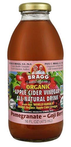 Bragg Organic Apple Cider Vinegar All Natural Drink Pomegranate Goji Berry -- 16 fl oz - 2 pc