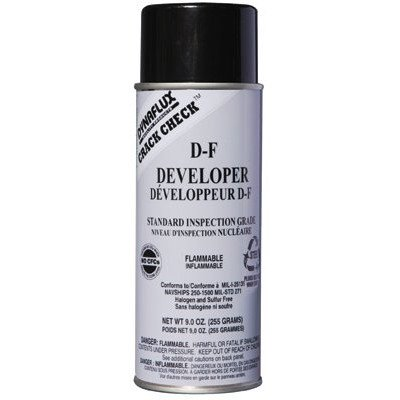 Visible Dye Penetrant System - Dynaflux - Visible Dye Penetrant System Dy Df Developer-Aerosol dyna-Flux: 368-Df315-16 - dy df developer-aerosoldyna-flux [Set of 12]