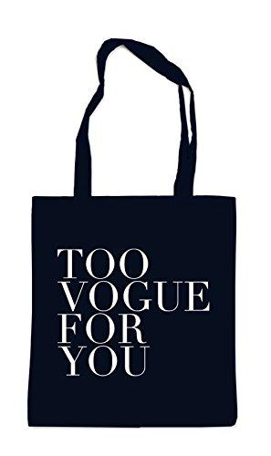 Too Vogue For You Bag Black