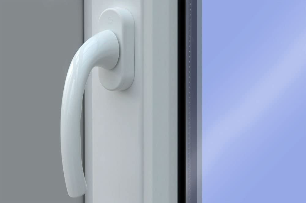 BxH Fenster weiss 3-fach verglast 98x57 kipp- und drehbar DK-Rechts als Ma/ßanfertigung