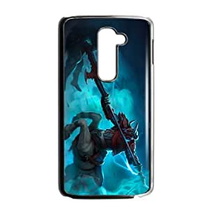 LG G2 Cell Phone Case Black League of Legends Blood Knight Hecarim TJ2762714