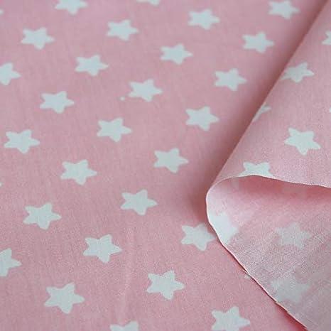 Calliope Unicorn Fabric Pink//Blue 100/% Cotton by Blend Per FQ OR Half Metre