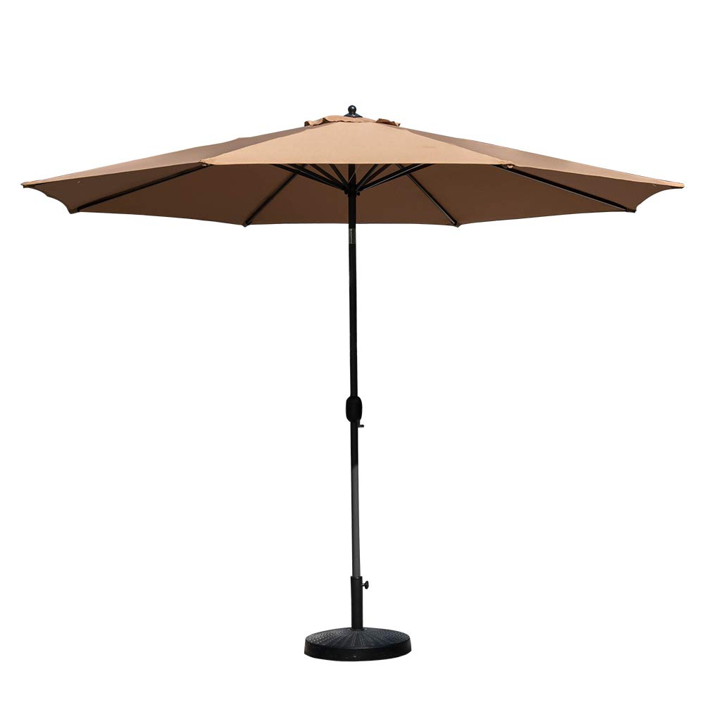 Amazon.com : TOUCAN OUTDOOR 11 Ft Patio Umbrella Outdoor Market Table  Umbrella with Push Button Tilt and Crank, 8 Sturdy Ribs, Tan : Garden &  Outdoor - Amazon.com : TOUCAN OUTDOOR 11 Ft Patio Umbrella Outdoor Market