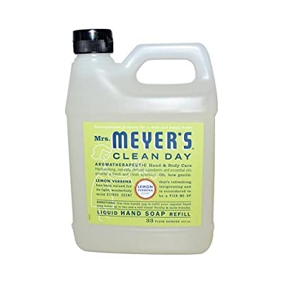Mrs Meyers Clean Day Liquid Hand Soap Refill Lavender 33 Fl Oz TEJ
