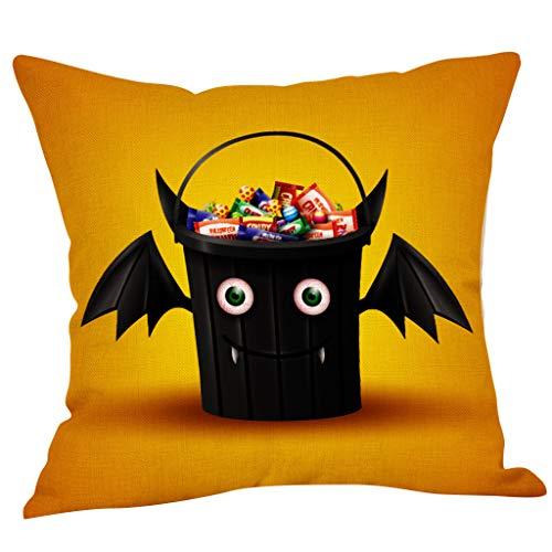 Succper Halloween Pillowcase Pillow Case Waist Throw Cover Sofa Home Kissenbezug Kürbis Dekorative Baumwolle Kissenhülle
