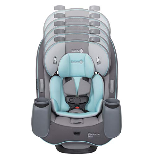 41XD0n3cUOL - Safety 1st Grow And Go Sprint 3-in-1 Convertible Car Seat, Seafarer