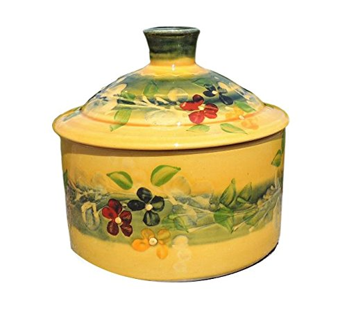 Souleo Provence Terre e Provence Pottery - Sugar Bowl