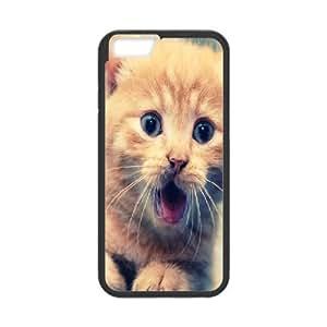 Case For iPhone 6, Cute Cat Case For iPhone 6, Stevebrown5v Black