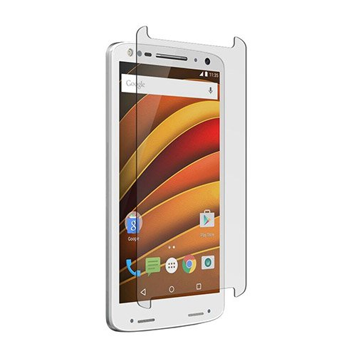 ZNITRO Tempered Glass Screen Protector for Motorola Droid Turbo 2 - Retail Packaging - Clear