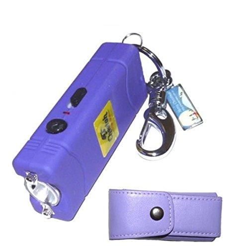 Cheetah-Nitro-25-Million-Volt-Purple-Stun-Gun-With-Keyring-Holder-and-Belt-Clip