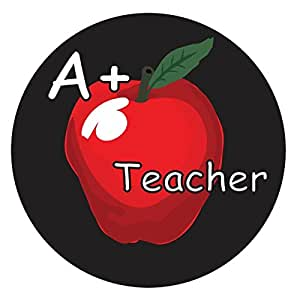 Absorbent Stone A+ Teacher Coaster (Coaster, A+ Teacher)