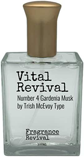 Vital Revival, Number 4 Gardenia Musk by Trish McEvoy Type
