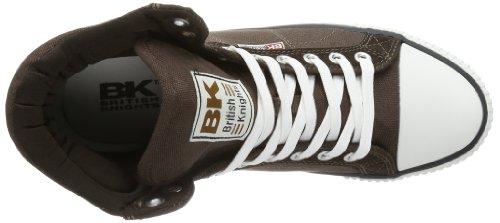 British Knights ECLIPSE HI B33-3763 - Zapatillas de lona para hombre, color marrón, talla 41 Marrón (Braun (dk.brown 3))