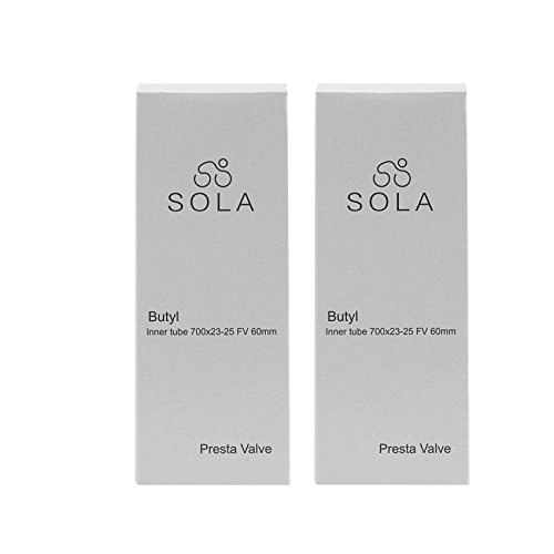 Bicycle Inner Tube Pack of 2  Sola Cycling