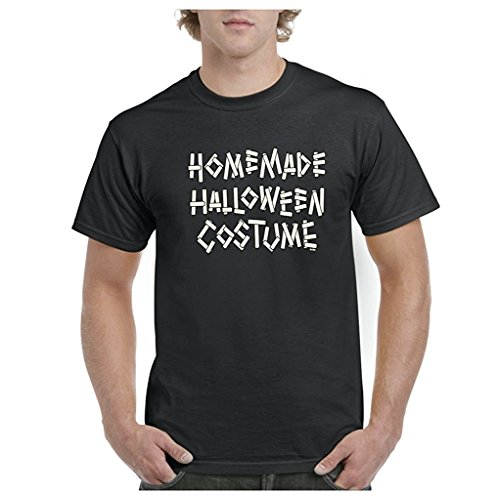 Artix Homemade Halloween Costume Mens T-shirt Tee Large Black (Homemade Halloween Costumes For Men)