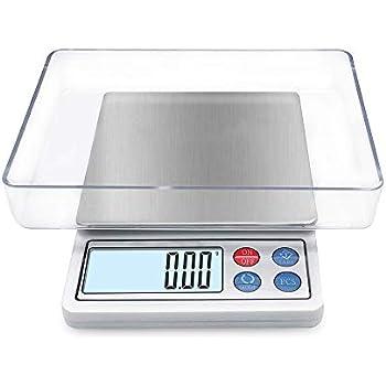 Amazon.com: KitchenTour Digital Kitchen Scale - 500g/0.01g ...