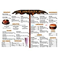 Menu Math Hamburger Hut Herramienta Educativa Extra