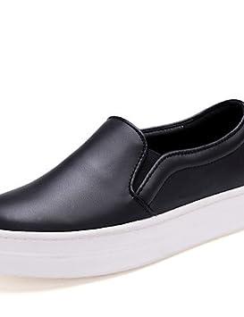 ZQ gyht Zapatos de mujer - Tacón Plano - Punta Redonda - Mocasines - Oficina y