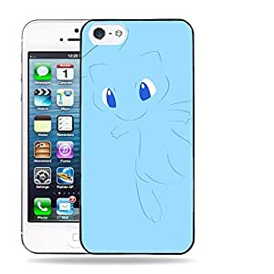 Case88 Designs Pokemon Mew Protective Snap-on Hard Back Case Cover for Apple iPhone 5 5s by Maris's Diary