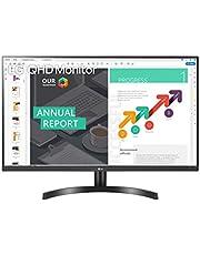 LG 32QN600-B 32 Pulgadas QHD (2560 x 1440) Monitor IPS con HDR 10, AMD FreeSync con entradas HDMI duales, Color Negro