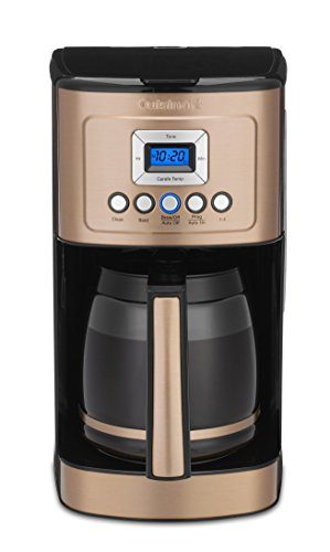 41XD63ON1xL - Cuisinart DCC-3200CPAMZ PerfecTemp 14 Cup Programmable Coffeemaker - Copper