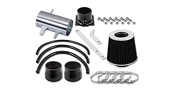 Filter 01-04 for Ford Escape with 3.0L V6 Engine ST Racing Black Short Ram Air Intake Kit