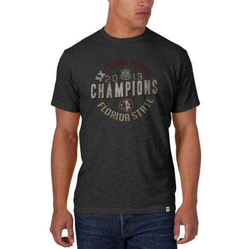 '47 Florida State Seminoles Brand 2013 BCS National Champs Grey Scrum T-Shirt XL