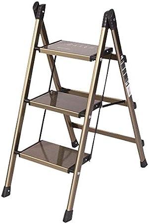 ZXR-Step stool Escalera Plegable, Escalera, 2 Pasos, 3 Pasos, El Espacio Libre De La InstalacióN, Adecuado para Trabajos De IngenieríA, PequeñOs Bastidores De Flores, Etc.: Amazon.es: Hogar