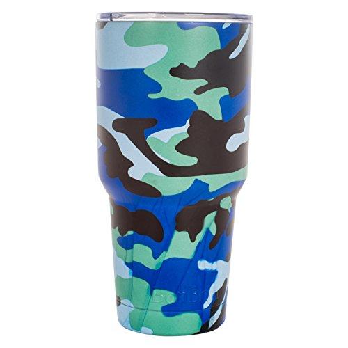 BonBon 30oz Travel Mug Vacuum Insulated Cup (Blue Camo)