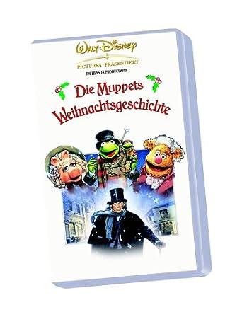 Muppet Christmas Carol Vhs.The Muppet Christmas Carol Vhs 1992 Amazon Co Uk Dvd