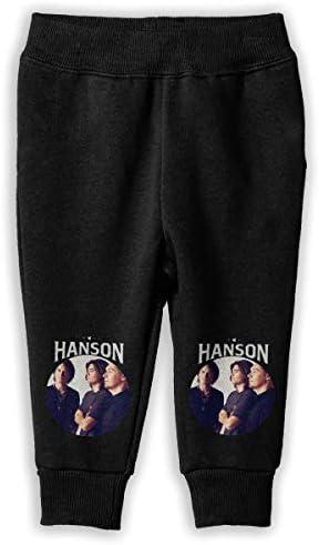 Hanson Band ロングパンツ スウェットパンツ ユニセックス 子供 日常 スクール 気軽 吸汗速乾 弾性 通気性 耐久 春秋 肌触りよく ソフト 下着 卒業式