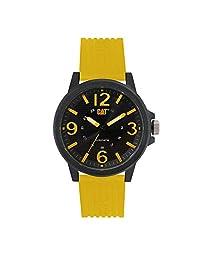 Caterpillar LF11127137 Reloj para Caballero con Caja de Plástico ABS y Resistencia al Agua de 10 ATM