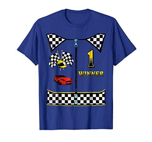 (Race Car Driver Costume T-Shirt Halloween)