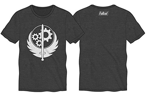 Fallout Sword with Wings Mens Grey T-shirt Licensed (XL)
