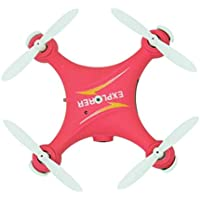 RC Drone With HD Camea, Anyren GW009C Mini 2.4G 6 Axis RC Quadcopter Aircraft (Red)