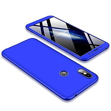 fa9dd600d2e BCIT Xiaomi Redmi S2 Funda Funda Xiaomi Redmi S2 360 Grados Integral para  Ambas Caras + ...